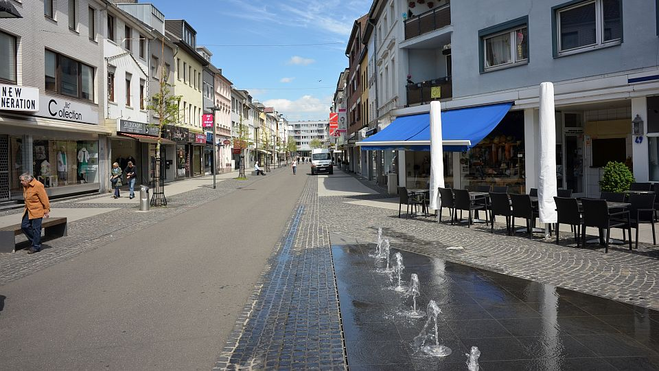 Wasserspiel in der Neustraße