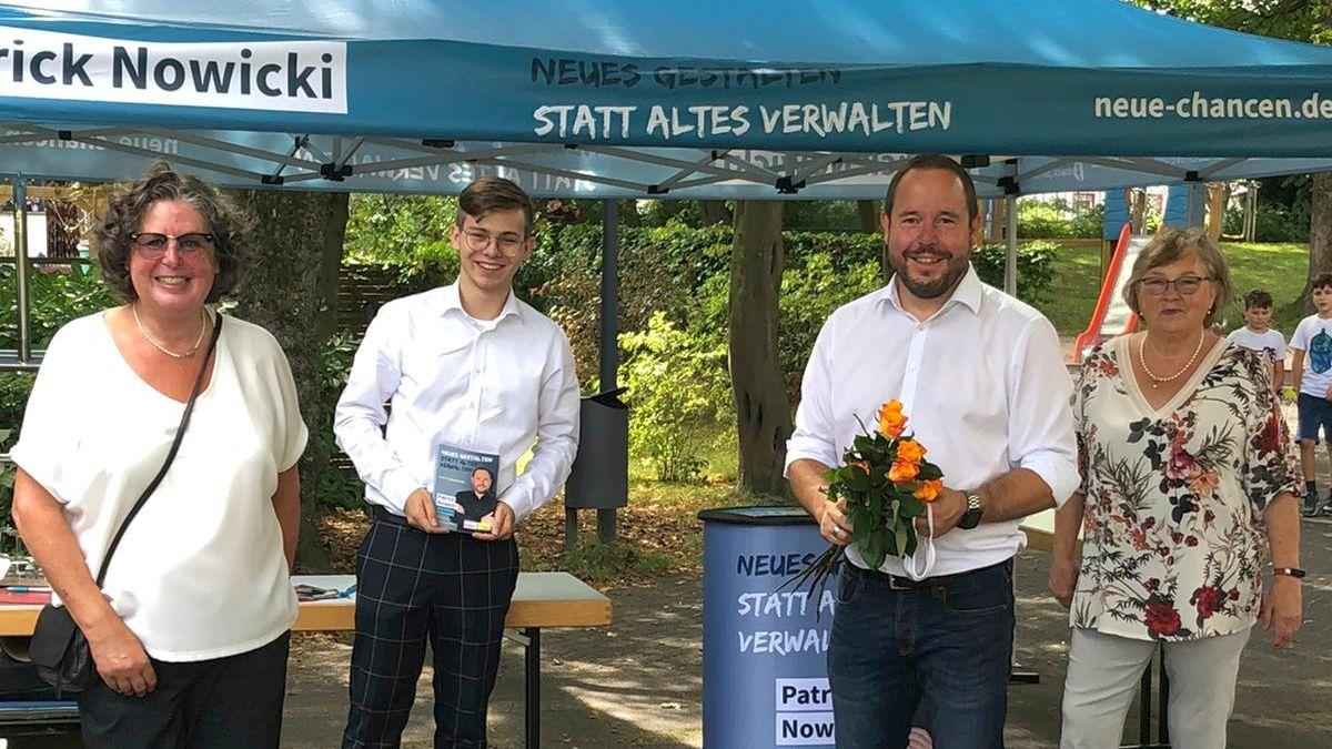 Patrick Nowicki: Neue Chancen für Eschweiler
