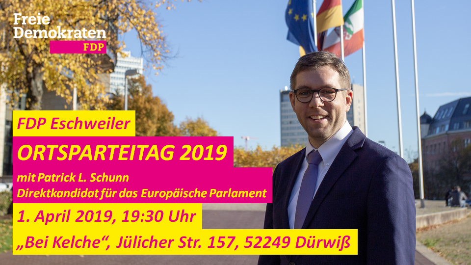 Ortsparteitag 2019 der FDP Eschweiler