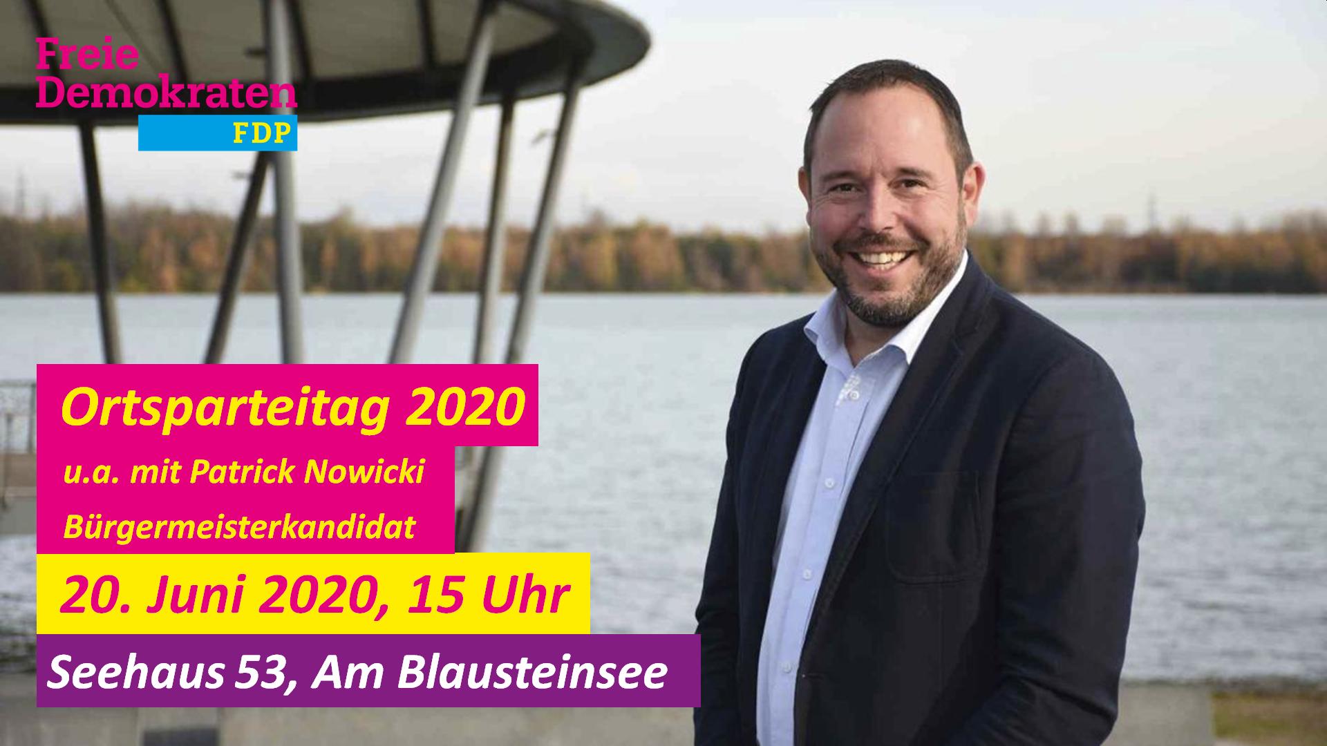 Wahlversammlung zur Kommunalwahl 2020