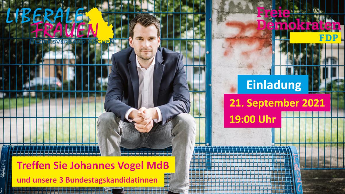 Veranstaltung mit Johannes Vogel MdB